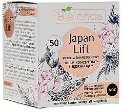 Parfüm, Parfüméria, kozmetikum Éjszakai erősítő krém koncentrátum 50+ - Bielenda Japan Lift Night Cream 50+