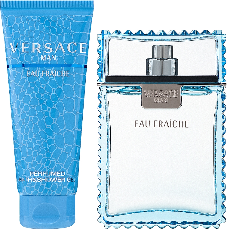 Versace Man Eau Fraiche - Szett (edt/100ml + sh/gel/100ml) — fotó N2