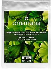 Parfüm, Parfüméria, kozmetikum Arcmaszk - Orientana Silk Cloth Face Mask Ginkgo Biloba & Aloe
