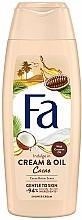 """Parfüm, Parfüméria, kozmetikum Tusoló krém-gél """"Kakaó és kókusz olaj"""" - Fa Cacao Butter And Coco Oil"""