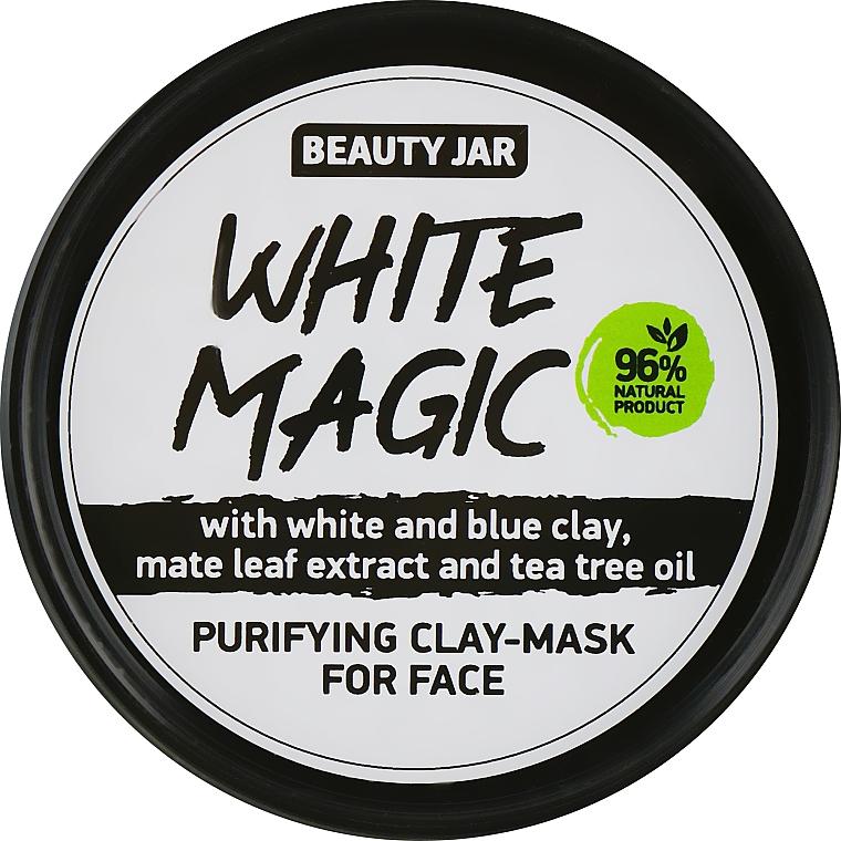 Arcmaszk maté levél kivonattal - Beauty Jar White Magic