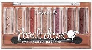 Szemhéjfesték paletta - Lovely Peach Desire