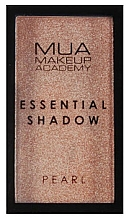 Parfüm, Parfüméria, kozmetikum Szemhéjfesték - MUA Essential Shadow Pearl (Sand Quartz)