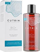 Parfüm, Parfüméria, kozmetikum Kiegyensúlyozó és hidratáló sampon - Cutrin Bio+ Re-Balance Shampoo