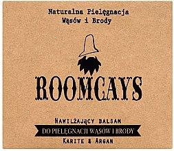 Parfüm, Parfüméria, kozmetikum Balzsam bajuszra és szakállra shea vajjal - Roomcays
