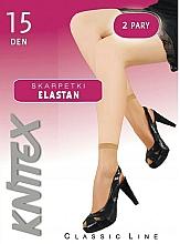 """Parfüm, Parfüméria, kozmetikum Női zokni """"Elastan"""" 15 Den, 2 pár, visone - Knittex"""