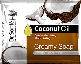 Parfüm, Parfüméria, kozmetikum Krém-szappan arcra kókuszolajjal - Dr.Sante Cream Soap