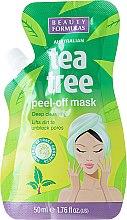 Parfüm, Parfüméria, kozmetikum Lehúzható arcmaszk - Beauty Formulas Tea Tree Peel-Off Mask