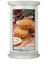 Parfüm, Parfüméria, kozmetikum Illatgyertya pohárban - Kringle Candle Cardamom Gingerbread