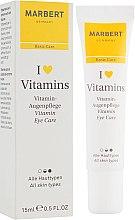 Parfüm, Parfüméria, kozmetikum Krém szemkörnyékre - Marbert I love Vitamins Eye Care