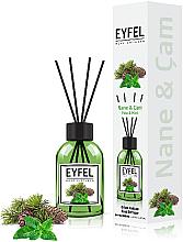 """Parfüm, Parfüméria, kozmetikum Aromadiffúzor """"Menta"""" - Eyfel Perfume Reed Diffuser Mint"""