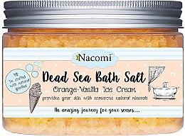 Parfüm, Parfüméria, kozmetikum Holt tengeri sófürdő naranccsal és vaníliával - Nacomi Dead Sea Bath Salt