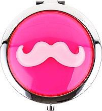 "Parfüm, Parfüméria, kozmetikum Kozmetikai tükör 85697 ""Lusterko Kompaktowe"", halvány rózsaszín - Top Choice"