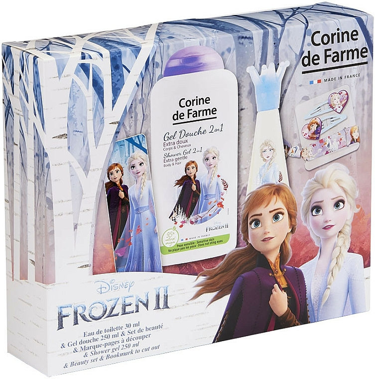Corine De Farme Disney Frozen 2 - Szett (edt/30ml + sh/gel/250ml + accessories)