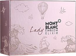 Parfüm, Parfüméria, kozmetikum Montblanc Lady Emblem Elixir - Szett (edp/75ml + edp/mini/7.5ml + b/l/100ml)