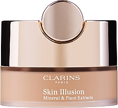 Parfüm, Parfüméria, kozmetikum Ásványi porpúder - Clarins Skin Illusion Loose Powder Foundation