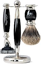 Parfüm, Parfüméria, kozmetikum Szett - Taylor of Old Bond Street Mach3 (razor/1szt + sh/brush/1szt + stand/1szt)