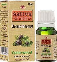 """Parfüm, Parfüméria, kozmetikum Illóolaj """"Cédrus"""" - Sattva Ayurveda Cedarwood Essential Oil"""