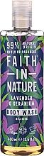 Parfüm, Parfüméria, kozmetikum Tusüfrdő - Faith in Nature Lavender & Geranium Body Wash