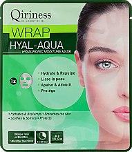 Parfüm, Parfüméria, kozmetikum Hialuron hidratáló és fiatalító szövet maszk - Qiriness Wrap Hyal-Aqua Hyaluronic Moisture Mask