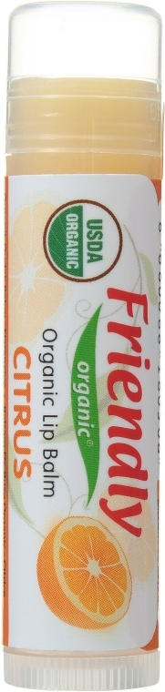 """Ajakápoló balzsam """"Narancs"""" - Friendly Organic Lip Balm Citrus"""