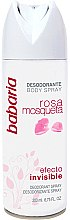Parfüm, Parfüméria, kozmetikum Deo spray - Babaria Rose Hip Invisible Effect Deodorant Spray
