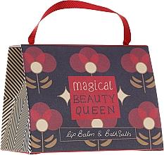 Parfüm, Parfüméria, kozmetikum Szett - Bath House Barefoot & Beautiful Magical Beauty Queen (lip/balm/15g + b/salt/100g)