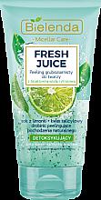 """Parfüm, Parfüméria, kozmetikum Detoxikáló nagy szemcsés arcpeeling """"Citrom"""" - Bielenda Fresh Juice Peel"""