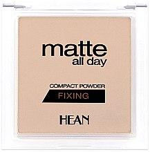 Parfüm, Parfüméria, kozmetikum Arcpúder - Hean Matte All Day Compact Powder