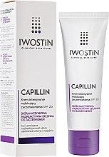 Parfüm, Parfüméria, kozmetikum Éjszakai arckrém - Iwostin Capillin Intensive Cream SPF 20