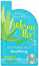 Parfüm, Parfüméria, kozmetikum Nyugtató arcmaszk - Dewytree Help Me Aloe! Soothing Mask