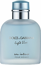 Parfüm, Parfüméria, kozmetikum Dolce & Gabbana Light Blue Eau Intense Pour Homme - Eau De Parfum