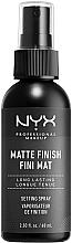 Parfüm, Parfüméria, kozmetikum Sminkfixáló matt hatással - NYX Professional Makeup Matte Finish Long Lasting Setting Spray