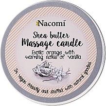 """Parfüm, Parfüméria, kozmetikum Masszázsgyertya """"Narancs és vanília"""" - Nacomi Shea Butter Massage Candle"""