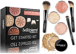 Parfüm, Parfüméria, kozmetikum Alap smink készlet - Bellapierre Get Started Kit Medium