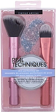 Parfüm, Parfüméria, kozmetikum Készlet - Real Techniques Skin Perfecting Set (brush/2pcs + mirror/1pcs)