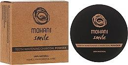 Parfüm, Parfüméria, kozmetikum Fogfehérítő fogpor - Mohani Smile Teeth Whitening Charcoal Powder