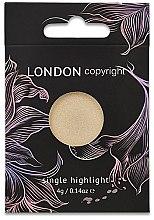 Parfüm, Parfüméria, kozmetikum Highlighter arcra - London Copyright Magnetic Face Powder Highlight (Moonshine)