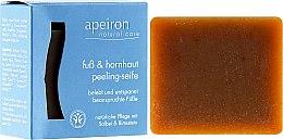 Parfüm, Parfüméria, kozmetikum Bőrradírozó szappan lábra - Apeiron Foot&Callus Exfoliating Soap