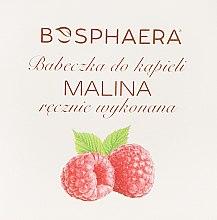 "Parfüm, Parfüméria, kozmetikum Fürdőbomba ""Málna"" - Bosphaera"