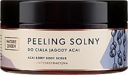"Parfüm, Parfüméria, kozmetikum Só peeling ""Asszai bogyók"" - Nature Queen Body Scrub"