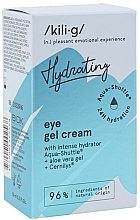 Parfüm, Parfüméria, kozmetikum Intenzív hidratáló szemkrém - Kili-g Hydrating Eye Gel Cream