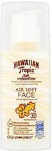 Parfüm, Parfüméria, kozmetikum Napvédő lotion arcra - Hawaiian Tropic Silk Hydration Air Soft Face Protective Sun Lotion SPF 30