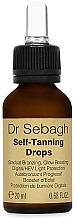 Parfüm, Parfüméria, kozmetikum Önarnító cseppek - Dr Sebagh Self-Tanning Drops