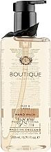 "Parfüm, Parfüméria, kozmetikum Folyékony kézszappan ""Fekete áfonya"" - Grace Cole Boutique Oud & Cassis Hand Wash"
