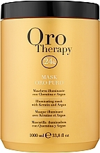 Parfüm, Parfüméria, kozmetikum Helyreállító maszk aktív arany részecskékkel - Fanola Oro Therapy Oro Puro Mask