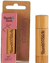 Parfüm, Parfüméria, kozmetikum Olaj ajakra eper ízesítéssel - Bamboostick Strawberry Bamboo Natural Care Lip Butter