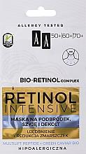 Parfüm, Parfüméria, kozmetikum Fiatalító maszk álra,nyakra és dekoltázsra - AA Retinol Intensive Bio-Retinol Complex 50+ 60+ 70+ Mask