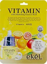 Parfüm, Parfüméria, kozmetikum Szövetmaszk vitamin komplexummal - Ekel Vitamin Ultra Hydrating Mask