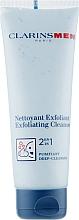 Parfüm, Parfüméria, kozmetikum Tisztító és hámlasztó gél arcra - Clarins Men Exfoliating Cleanser